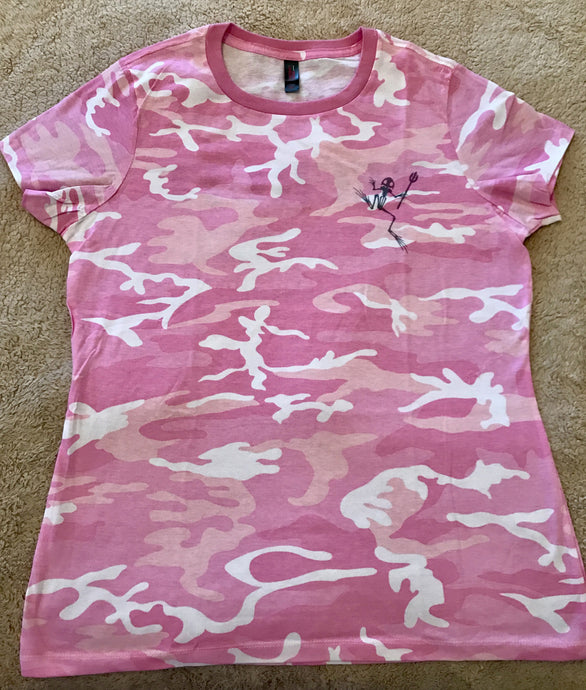 New Recruit Pink Camo Tee Shirt
