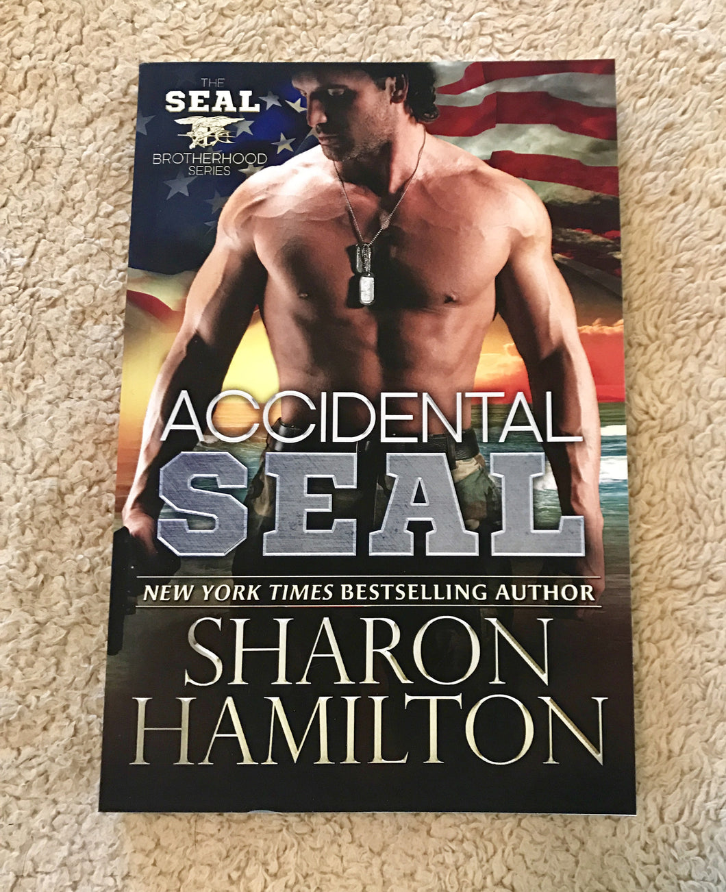 Signed Print Book:  Accidental SEAL, Book 1