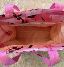 Pink Camo Canvas Tote Bag
