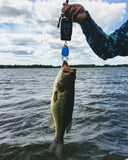Combo Fish Lip Gripper + Digital Fish Weigh Scale with Tape Measure