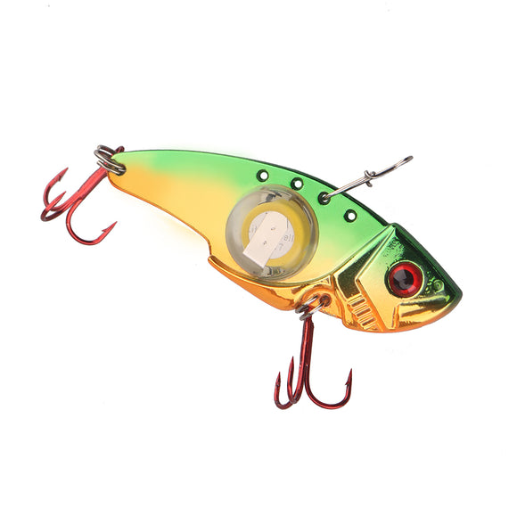 Vibe Mino - Orange LED Blade Bait
