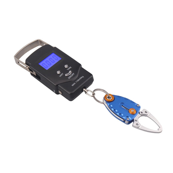 Fish Weight Scale Digital with Lip Gripper
