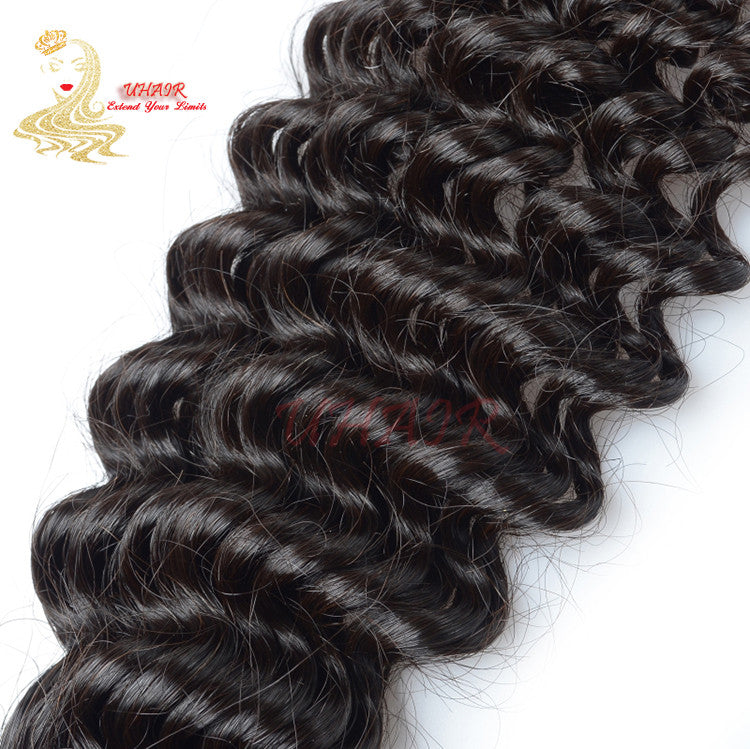 9A Brazilian Platinum Standard Curly Hair