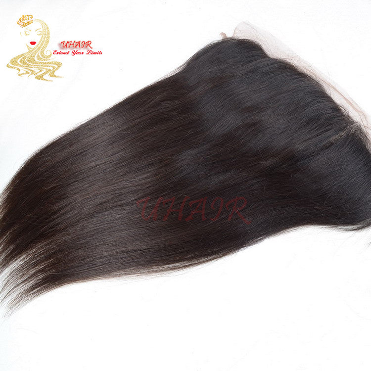 9A Brazilian Lace Frontal 13x5 Straight Hair