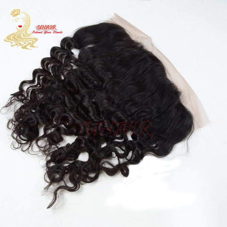 9A Brazilian Lace Frontal 13x5 Deep Wave Hair