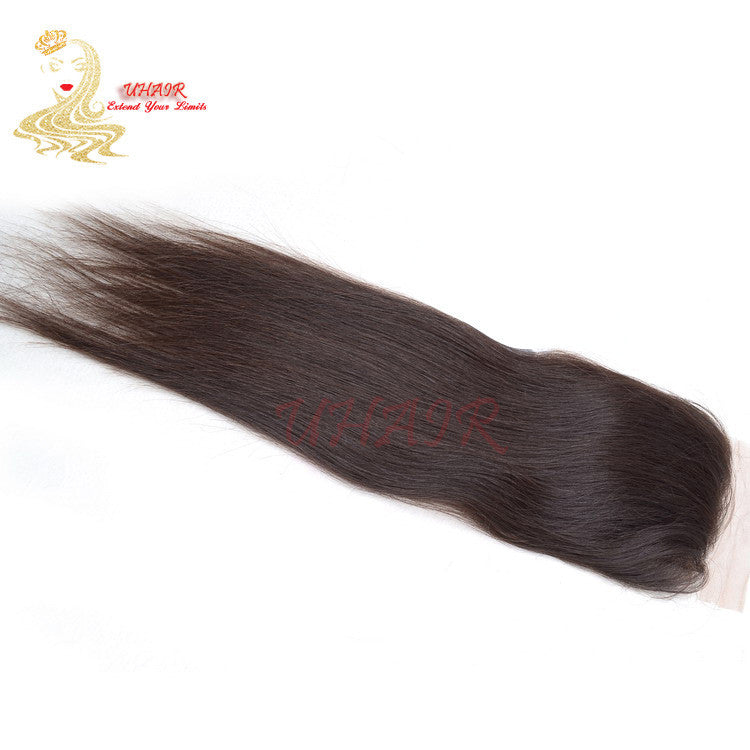 9A 3.5x4 Brazilian Human Lace Top Closure Straight Hair