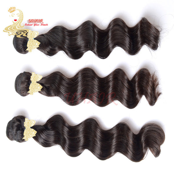 9A Brazilian Platinum Standard Loose Wave Hair