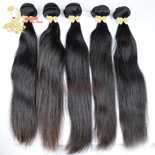 9A Brazilian Platinum Standard Straight Hair