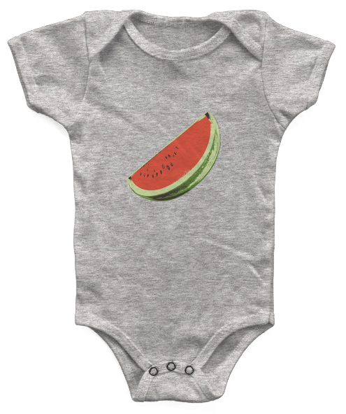 Baby Watermelon Slice Onesie