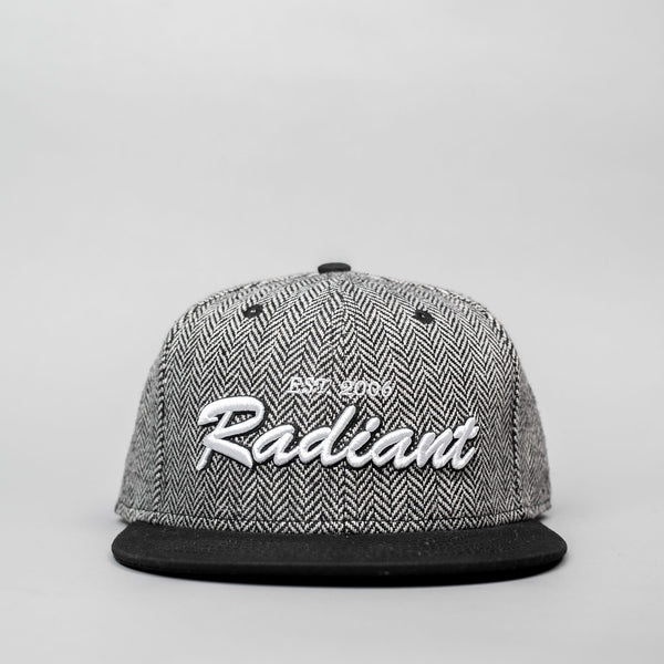 Gray Tweed Snapback