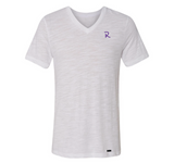 Men's V-Neck Slub Jersey T-Shirt