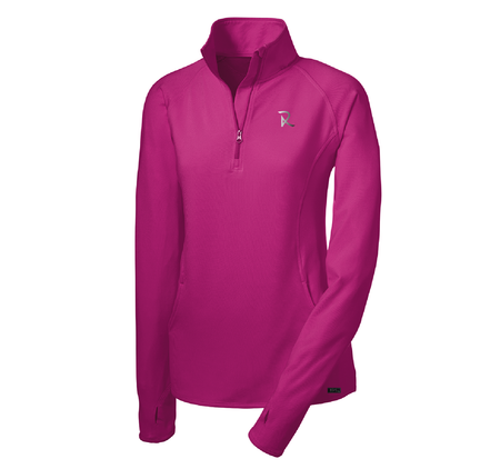 Men's Performance Stretch ½-Zip Long Sleeve Pullover