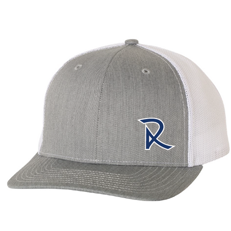 Rubber Patch Flat Bill Snap Back
