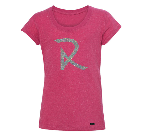 Women's Contrast patch Slub T-Shirt