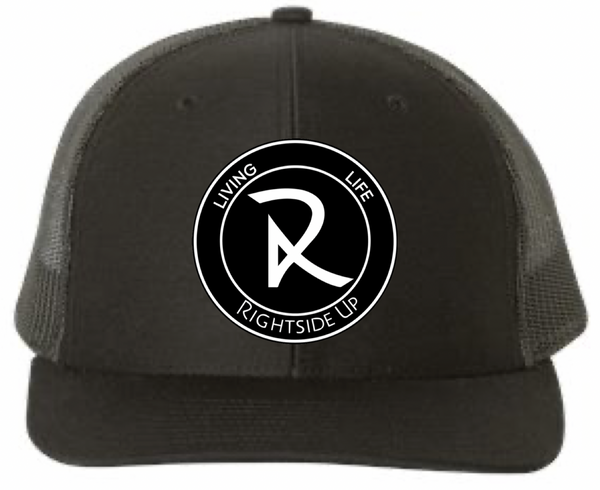 Rubber Patch Solid Color Snap Back