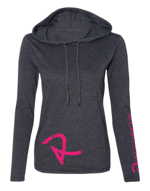 Women's Lightweight Long Sleeve Hooded T-Shirt