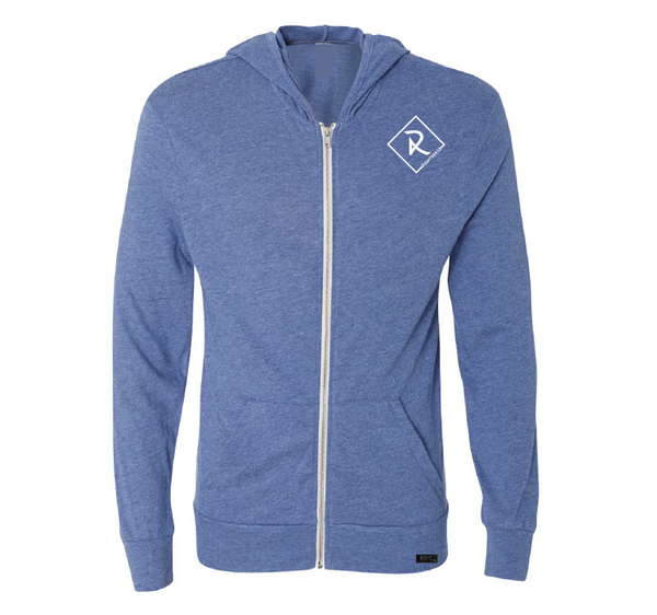 Men's Light Weight Zip Up