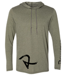 Men's Long Sleeve Hooded T-Shirt