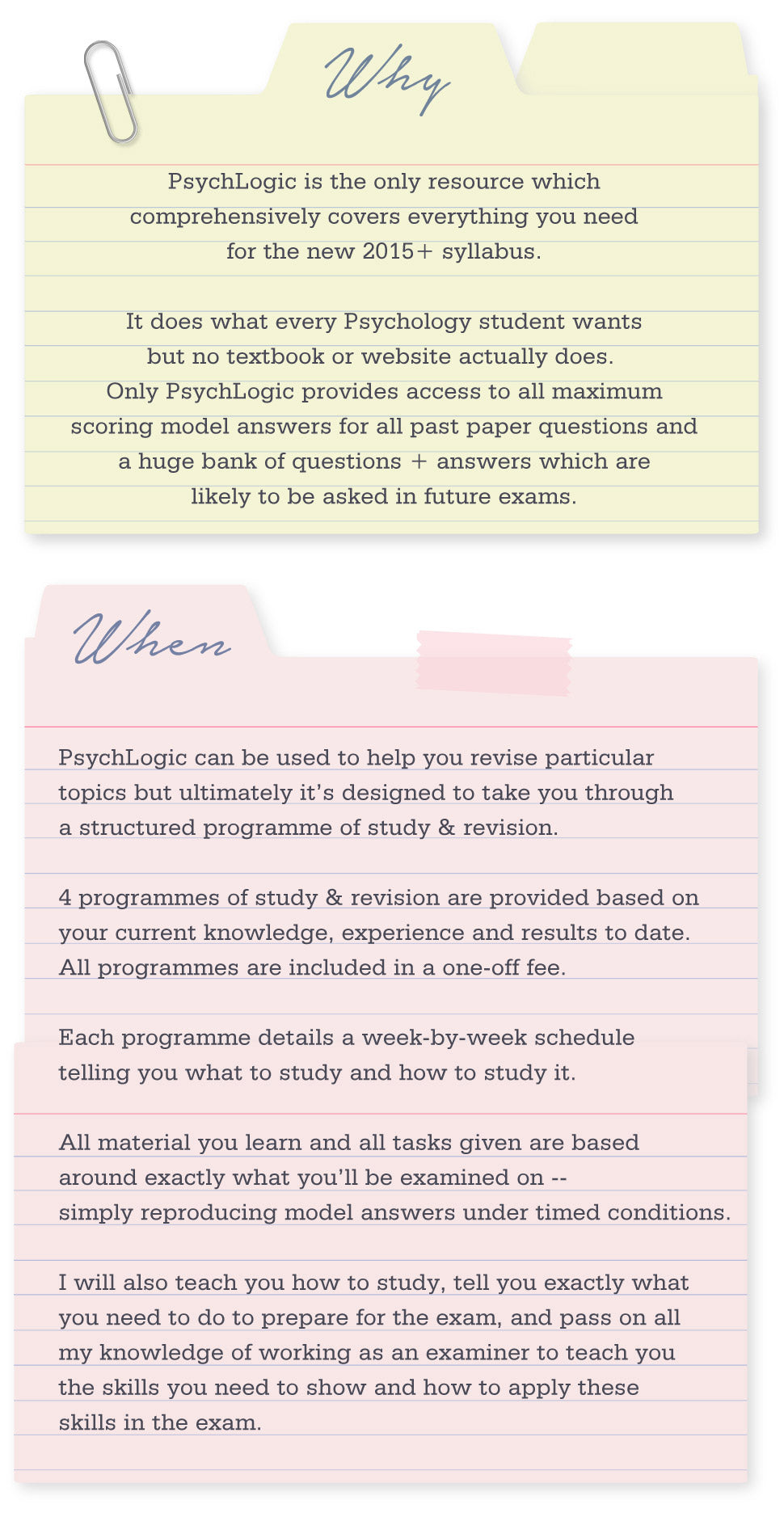 AQA Psychology Revision
