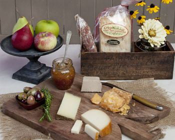 Cheese and More Gift Basket
