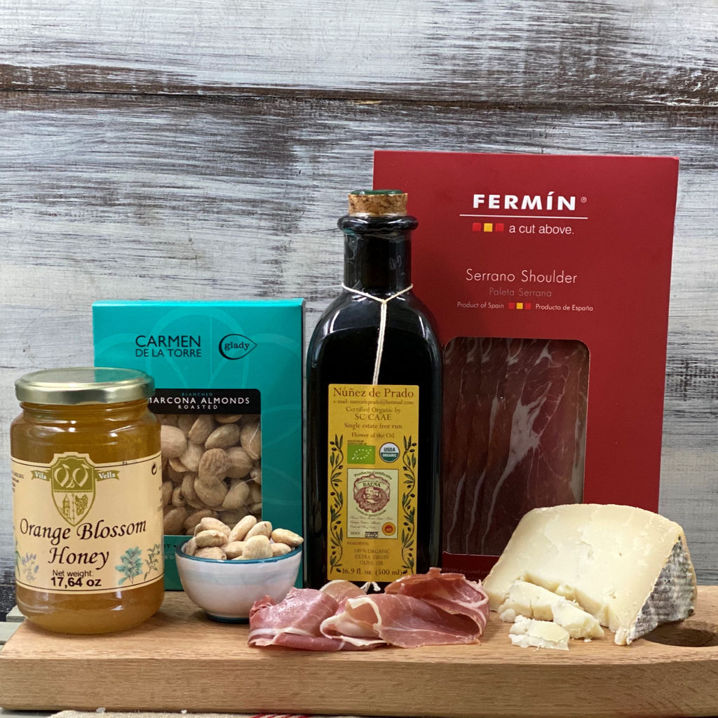 Spain Presents--Nunez de Prado Olive Oil and Friends