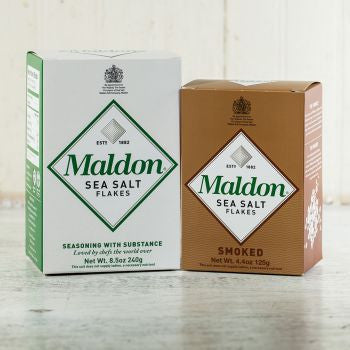 Maldon Sea Salt & Smoked Sea Salt
