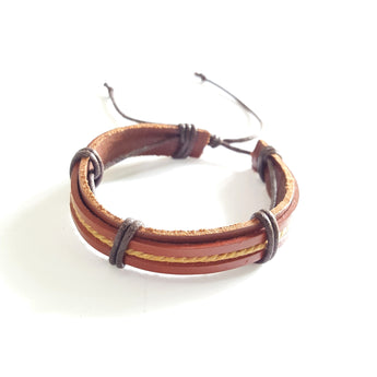 Brown Leather - Adjustable