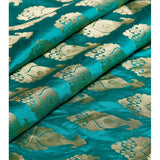 Green Silk Sarees with Zari Work - rang