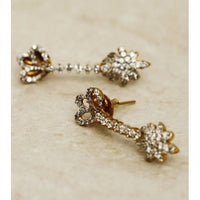 Stone Embellished Dangler Earrings (100000061541)