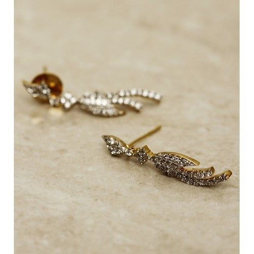 Stone Embellished Dangler Earrings (100000061542)