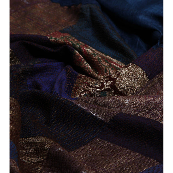 Multicoloured Silk Sarees - rang