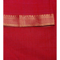 Blue Handloom Cotton Saree (100000055386) - rang
