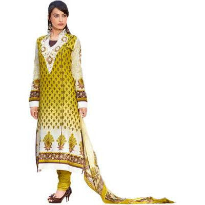 HYPNOTEX - COTTON PRINTED SALWAR SUIT WITH DUPATTA MATERIAL - RUPA-5408