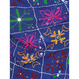 Shopatplaces - Phulkari Dupatta for women In Royal Blue in USA