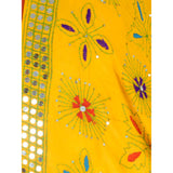 Shopatplaces - Phulkari Dupattas for women In Yellow in USA - rang