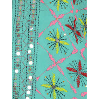 Shopatplaces - Phulkari Dupattas for women In Sky Blue in USA