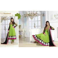 Green Colored Classic Designer Party Wear Salwar Suit - 31031 - rang