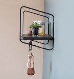 Nomad Wall Shelf / 94x24 cm / Black / Black