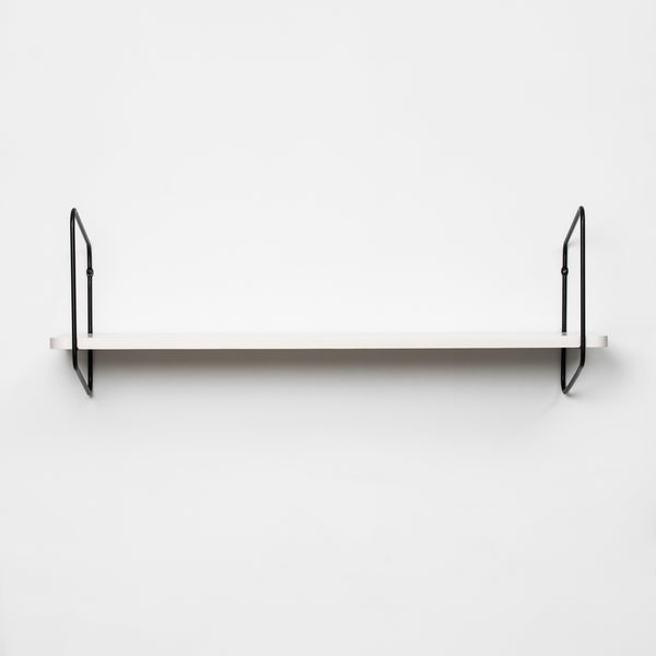 Nomad Wall Shelf / 94x24 cm / Black / White