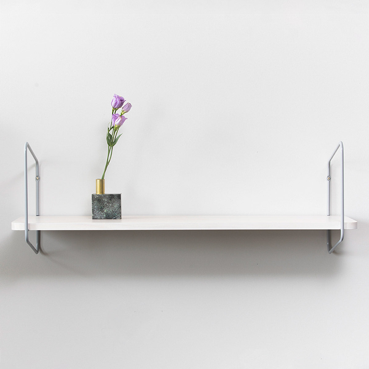 Urban Nomad Wall Shelf / 94x24 cm / Grey / White