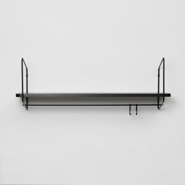 Urban Nomad Wall Shelf / 94x24 cm / Black / Black