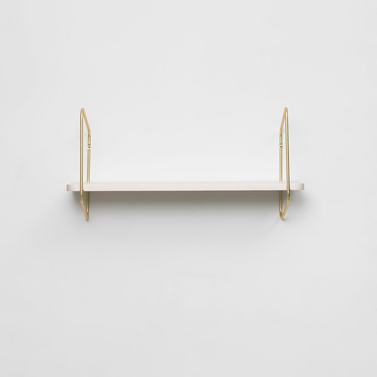 Urban Nomad Wall Shelf / 68x24 cm / Gold / White
