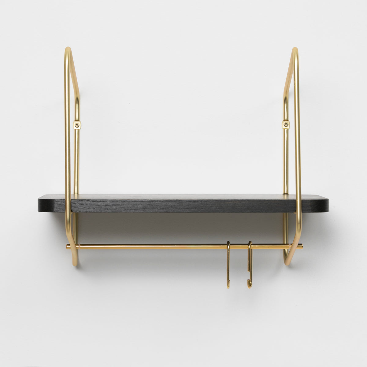 Urban Nomad Wall Shelf / 42x24 cm / Gold / Black