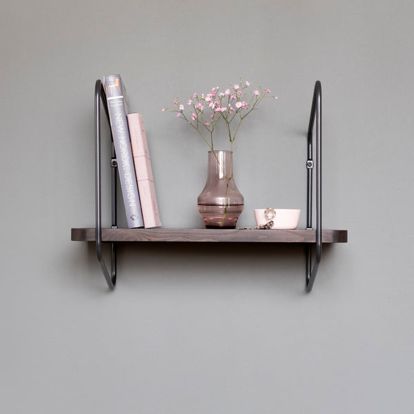Nomad Wall Shelf / 42x24 cm / Black / Black