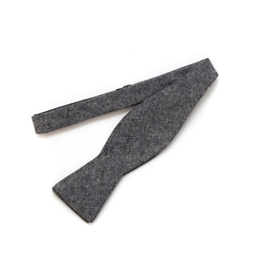 Bow Tie in Grayscale Cotton