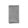 Pocket Square in Light Grey Linen