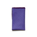 Pocket Square in Purple Diamond Cotton