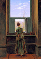 Caspar, Friedrich David - Woman at a Window