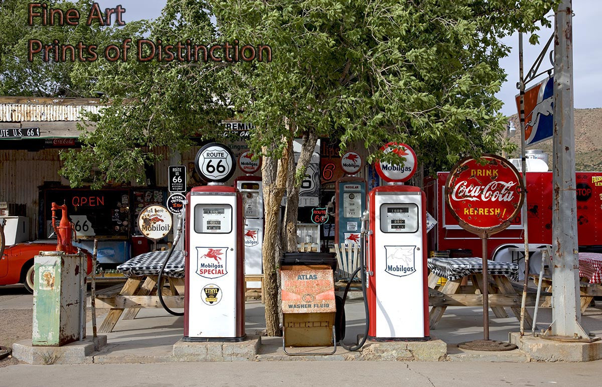 Hackleberry General Store on Route 66 Art Print