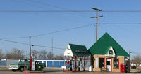 Sinclair Gas Station in Texas Art Print